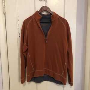Men's Tommy Bahama Pullover Size L rust orange
